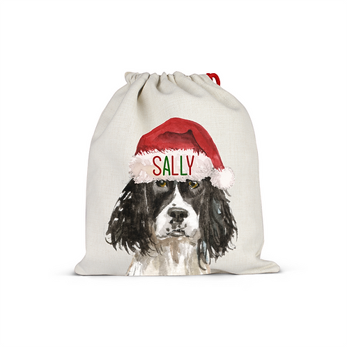 Springer Spaniel Christmas Sack