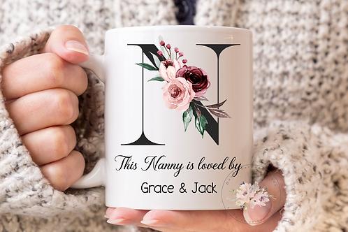 Nanny is loved by... Mug