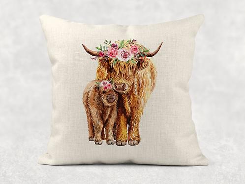 Highland Cows Cushion