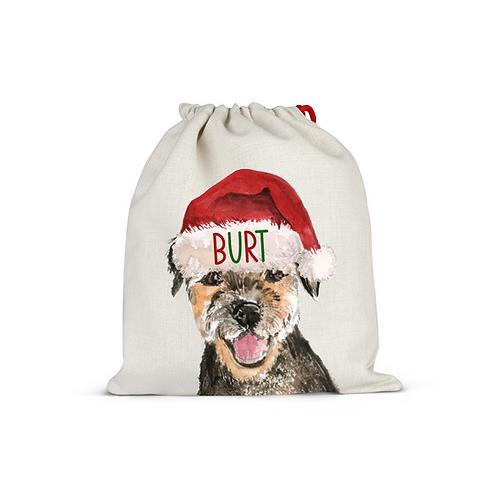 Border Terrier Christmas Sack