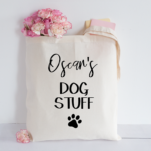 Dog stuff Tote Bag