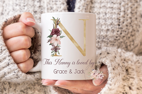 Gold Nanny is loved by... Mug