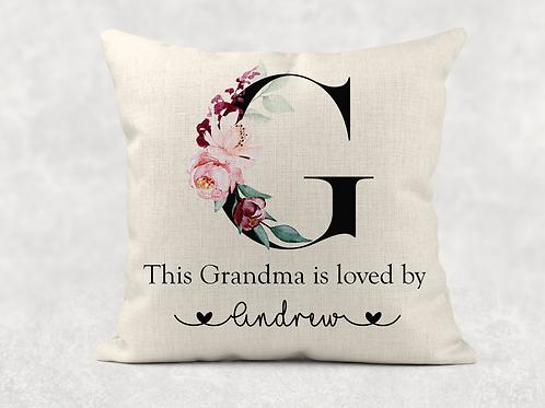 Grandma Is Loved By Cushion