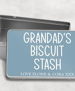 Grandad's Biscuit Tin