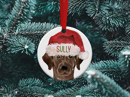 Labrador Christmas Tree Ornament