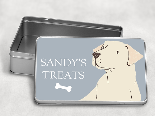 Labrador Treat Tin
