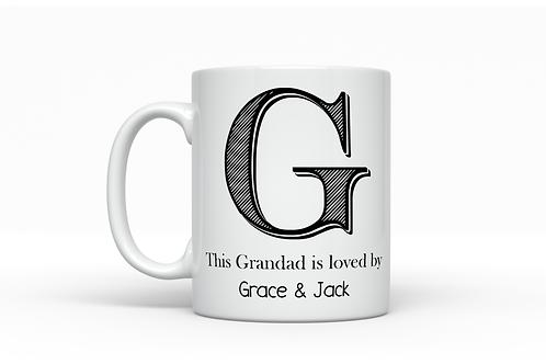 Grandad is loved by... Mug