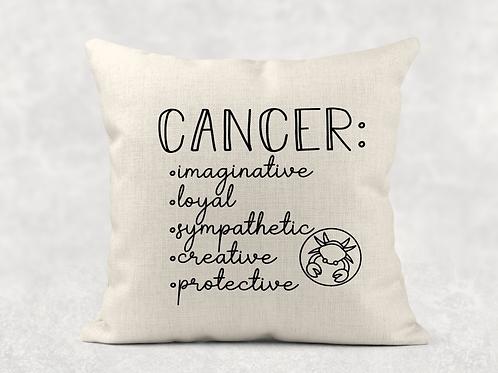 Cancer Starsign Cushion