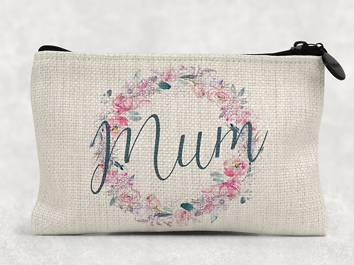 Floral Mum Makeup Bag