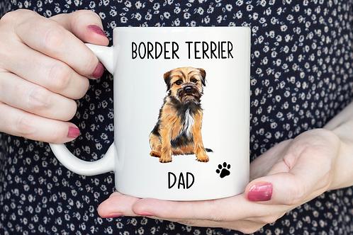 Border Terrier mug