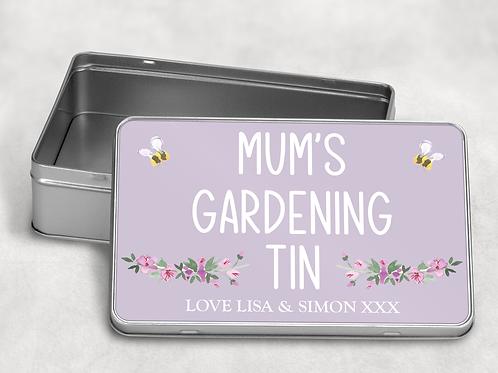 Mum's Gardening Tin