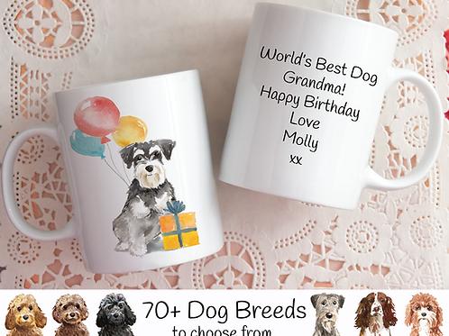 Personalised Birthday Dog Mug