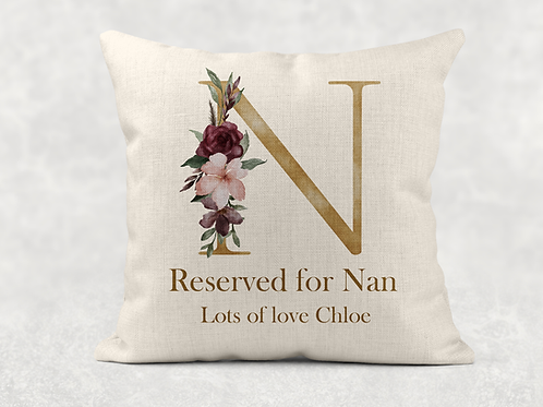 Gold Reserved For Nan Cushion