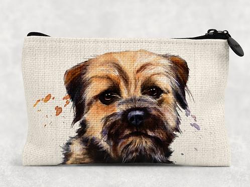 Border Terrier Makeup Bag