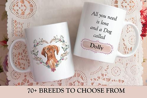 Love and a Dog Mug