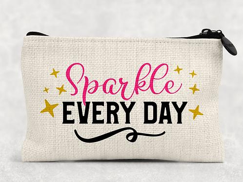 Sparkle everyday Makeup Bag