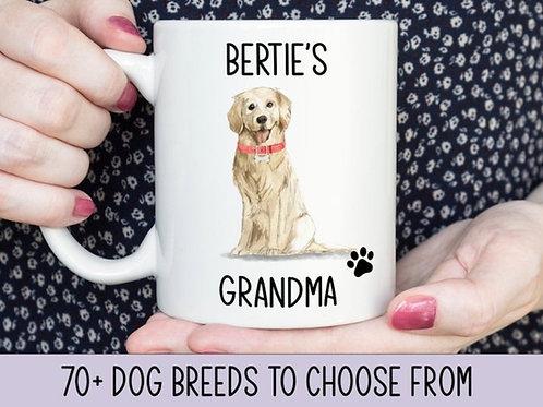 Personalised Dog Relative Mug