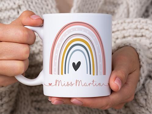 Teacher Rainbow mug