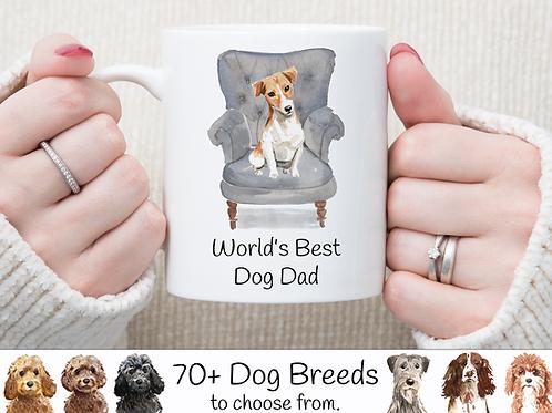 World's Best Dog Dad Mug