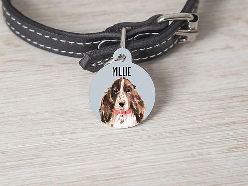Spaniel Dog ID Tag
