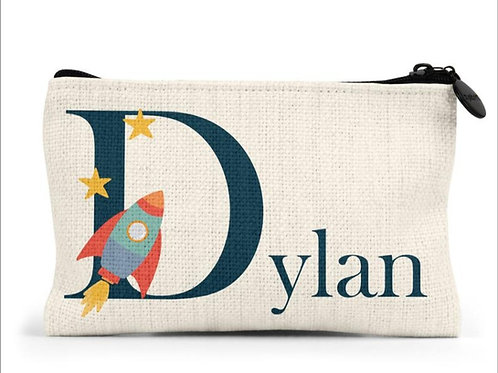 Personalised Rocket Pencil Case
