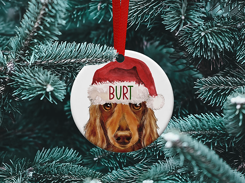 Dachshund Tree Ornament