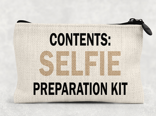 Selfie preparation kit Makeup Bag