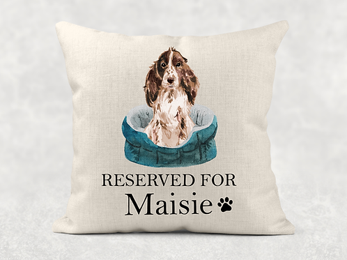 Reserved for.... dog Cushion