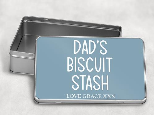 Dad's Biscuit Tin