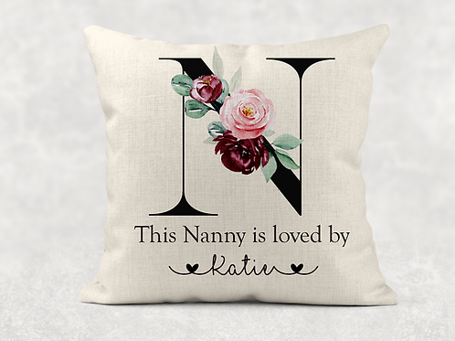 Nanny Is Loved By... Cushion