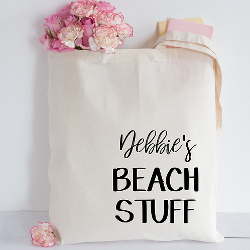 Beach Stuff Tote Bag