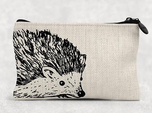 Sketched hedgehog Makeup Bag
