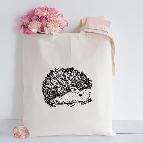 Sketched hedgehog Tote Bag
