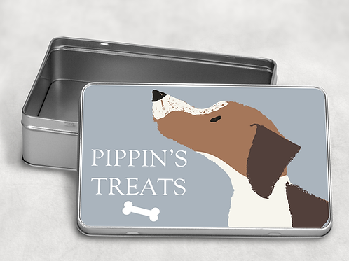 Beagle Treat Tin