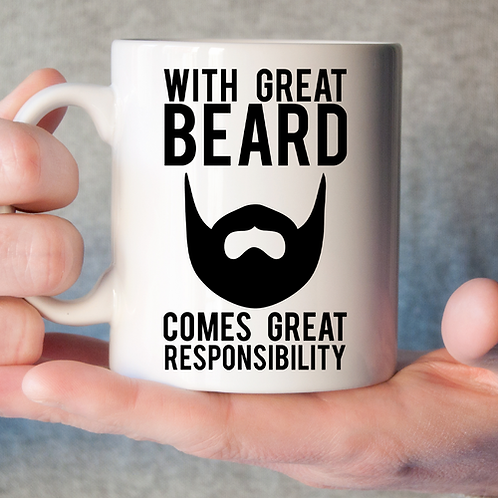 With Great Beard... Mug