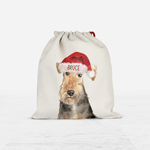 Terrier Christmas Sack