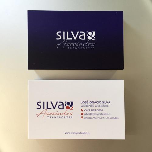 Tarjeta de presentación Silva & Asociado