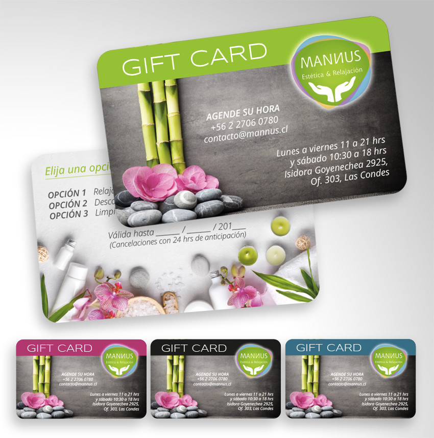 Gift Card Mannus Spa