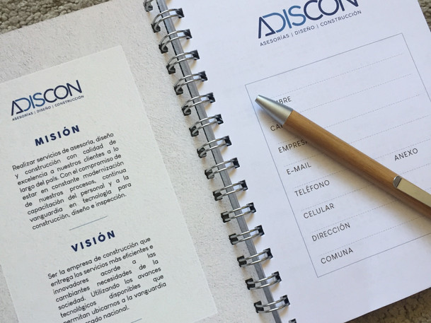 Cuaderno Adiscon