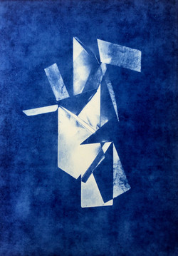 Prism light # 1 in Ultramarine