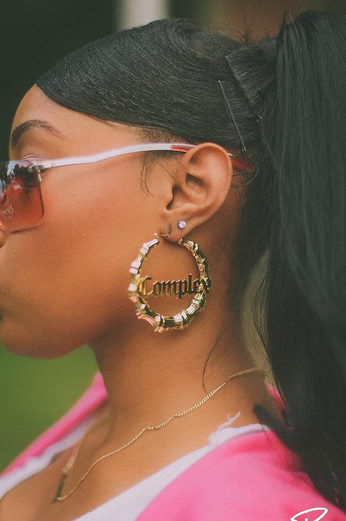 Complex Bamboo Earrings