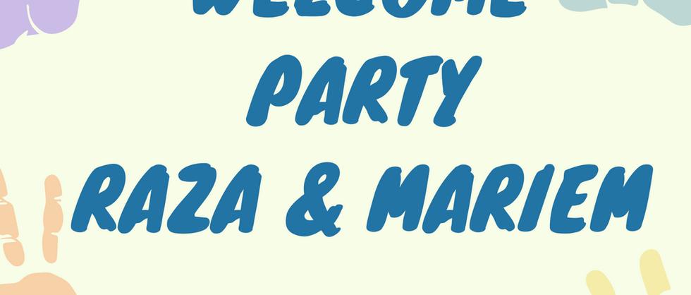 Welcome Party Raza & MARIEM 2021.05.06