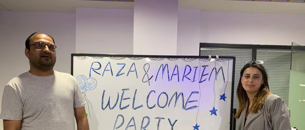 Welcome Party for Raza & Mariem 2021.05.06