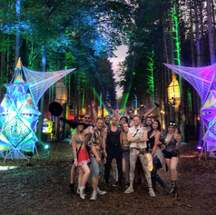 Electric Forest Arches Crew