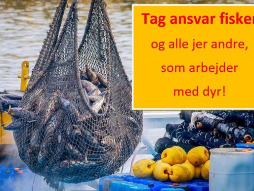 Tag ansvar fisker - og jer andre, som arbejder med dyr