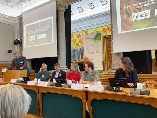 Min dag på Christiansborg til spændende konference om plantekost og epidemier