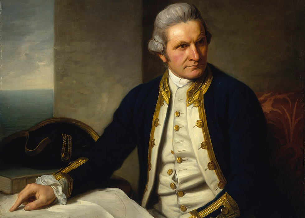 Captain James Cook   250th Anniversary   Totaranui 250 Trust
