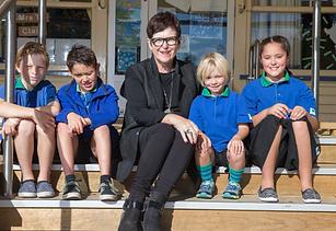 Dame Jenny Shipley returns to Whitney Street School