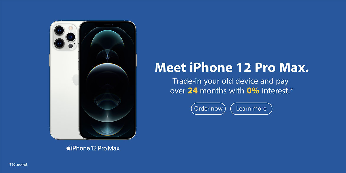Banner iPhone 12Pro max Order phase -01.