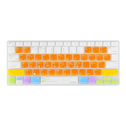 JCPAL Photoshop IIIustrator shortcuts keyboard protector(US-layout,Silicone,MBP)